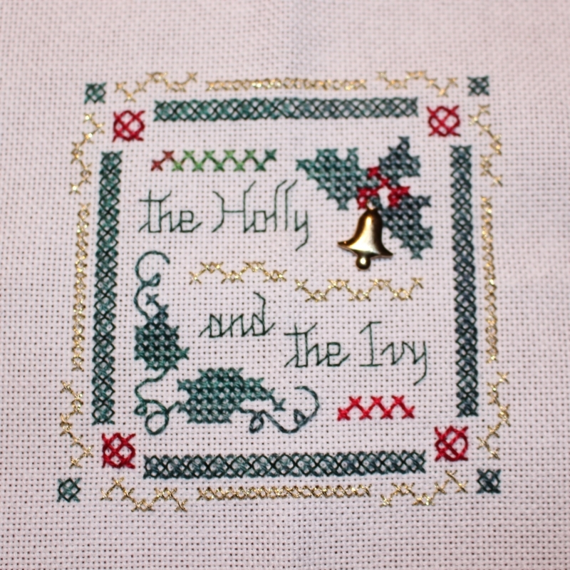 The Victoria Sampler - Beyond Cross Stitch #1-1 - Rice Stitch
