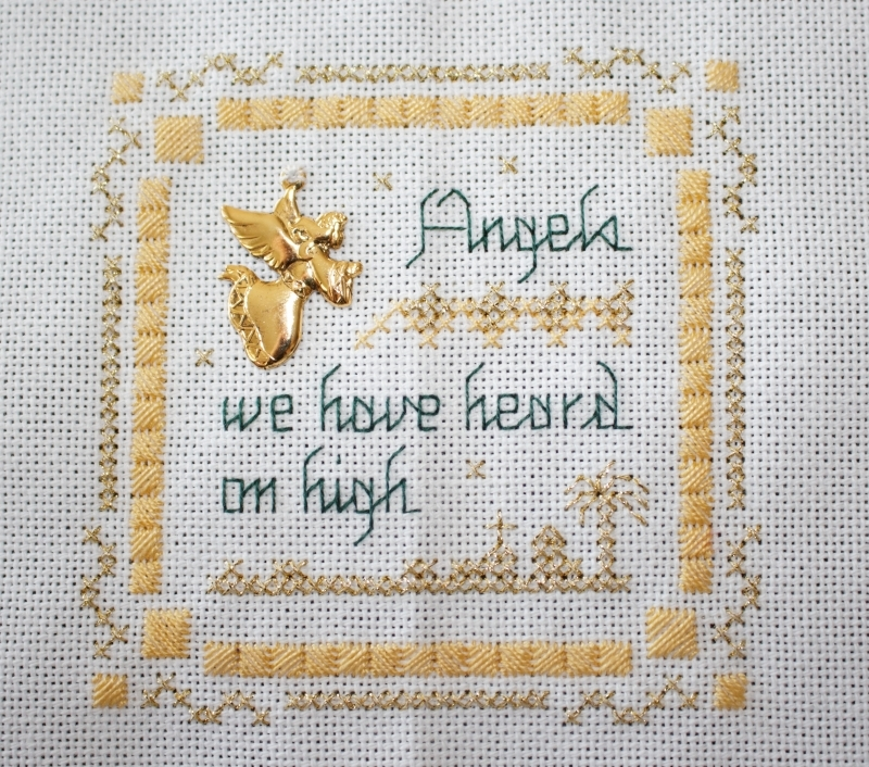 Victoria Sampler - Beyond Cross Stitch #1-2 - Scotch Stitch